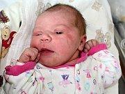 TEREZKA ŠVEJNOHOVÁ, první štěstí rodičů Petry  a Michala ze Staré Huti, se narodila v pondělí 3. července o váze 3,56 kg.