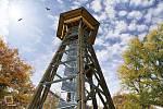 Nová rozhledna by měla být vysoká 37 metrů, aby z ní bylo vidět přes koruny stromů.