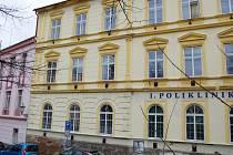 Poliklinika a záchytka Na Příkopech v Příbrami.