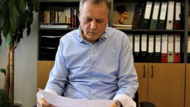 Ekonom a bývalý příbramský radní z minulého volebního období Václav Dvořák nenašel podporu u svých bývalých kolegů z hnutí ANO.