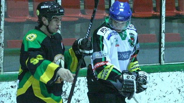 Krajská liga hokejistů: Příbram - V. Popovice (6:5 po sn).