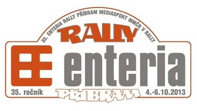 Logo 35. ročníku Enteria Rally Příbram.