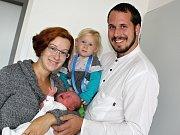 ALŽBĚTKA SOLNIČKOVÁ se narodila v úterý 5. září o váze 3,36 kg a míře 51 cm rodičům Marii a Ondřejovi z Mníšku pod Brdy. Dětstvím ji bude provázet sestřička Anežka.