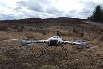 CHKO Brdy kontrolují policisté pomocí čtyřkolek nebo dronu.