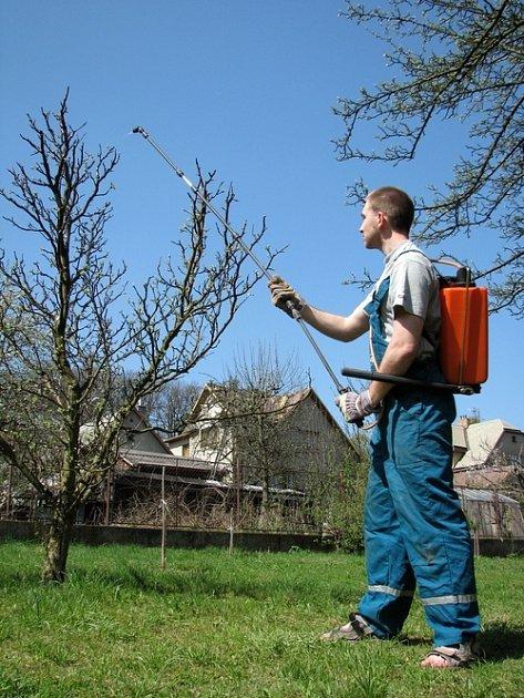 Duben je vhodný měsíc na ochranu řady ovocných stromů protí nejrůznějším škůdcům a plísním