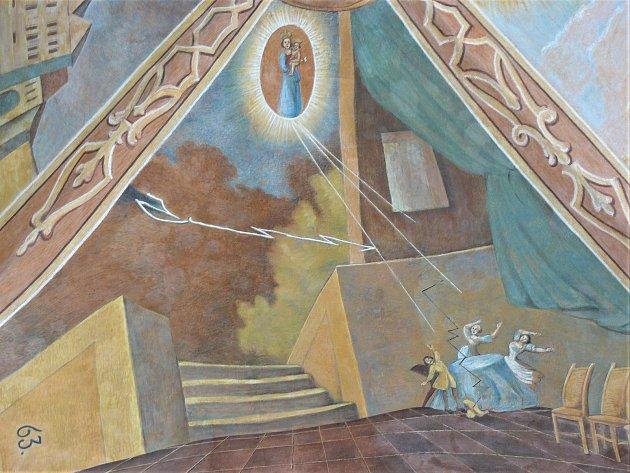 Sto svatohorských milostí: obraz číslo 57.