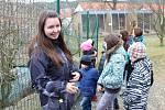 V ochraně fauny ČR v Hrachově v neděli 1. dubna pořádali Den ptactva, i přes nepříliš příjemné počasí návštěvníci nechyběli.
