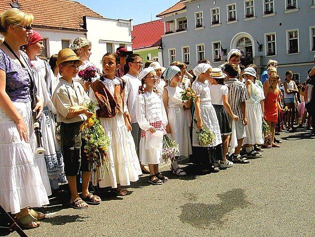 Den s českou královnou v pohádkovém království