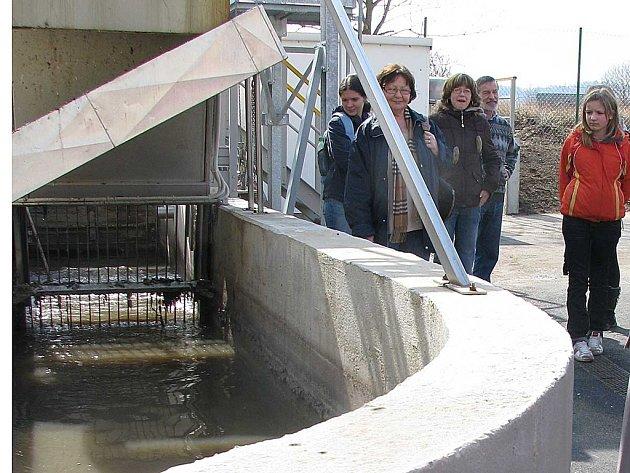 Den otevřených dveří na čističce odpadních vod v Příbrami