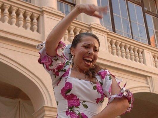 Tanečnice flamenca
