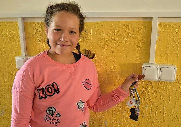 Nový systém vstupu do školy v základní škole v ulici 28. října v Příbrami.