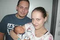 V PÁTEK 9. prosince maminka Petra tatínek Michal z Holšin přivítali na světě svého prvorozeného syna Michala Štofíru, který v ten den vážil 2,53 kg.