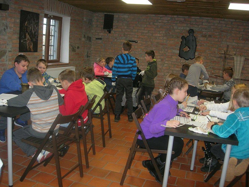 Z činnosti žáků na Základní škole Březové Hory v Příbrami.