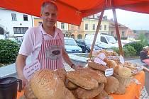 TRADIČNĚ se trhů zúčastnila i křepenická pekárna.