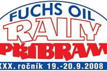 Logo Fuchs Oil Rally Příbram.