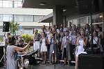 V příbramské nemocnici opět koncertoval pěvecký sbor Maranatha Gospel Choir.