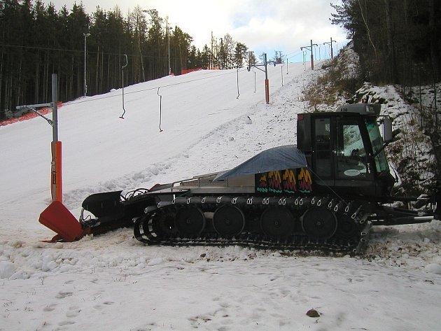 Ski-areál Padák v Příbrami