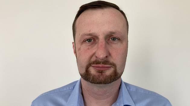 Předseda OFS Příbram Pavel Chán.