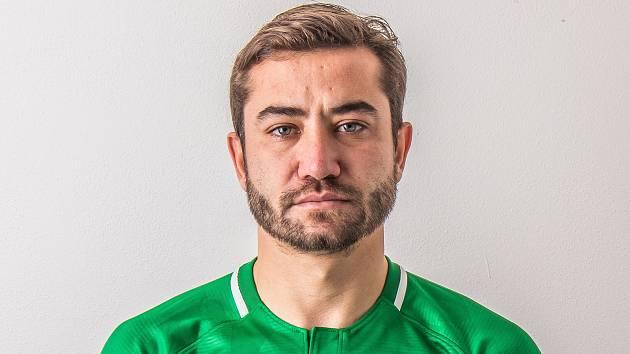 Turecký fotbalový záložník Příbrami Aydin Yilmaz.