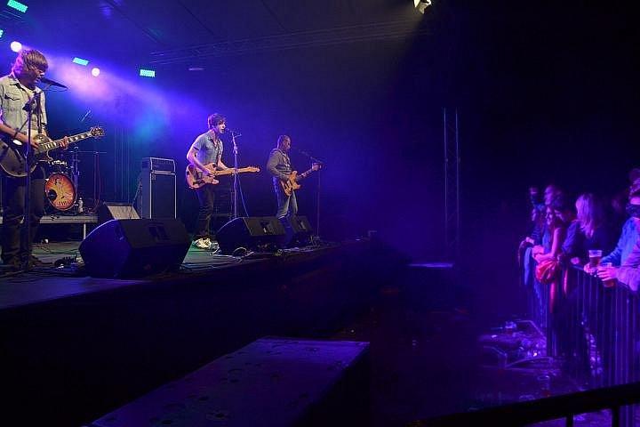Rockfest v Březnici.