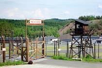 Vstupní brána do Památníku Vojna.