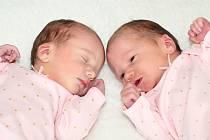 Amálie Šafránková se narodila 15. října 2019 v Příbrami. Vážila 2860 g a měřila 50 cm. Alžběta Šafránková se narodila 15. října 2019 v Příbrami. Vážila 2780 g a měřila 50 cm. Doma v Dobříši je přivítali maminka Markéta a tatínek Michal.