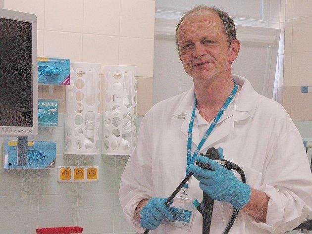 LÉKAŘ Filip Závada je primářem Interního oddělení Oblastní nemocnice Příbram od roku 2013.Je také místopředsedou České gastroenterologické společnosti.