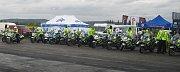 Okolo 40 milovníků motorek zahájilo společně s policií letošní sezónu akcí věnovanou bezpečnosti.