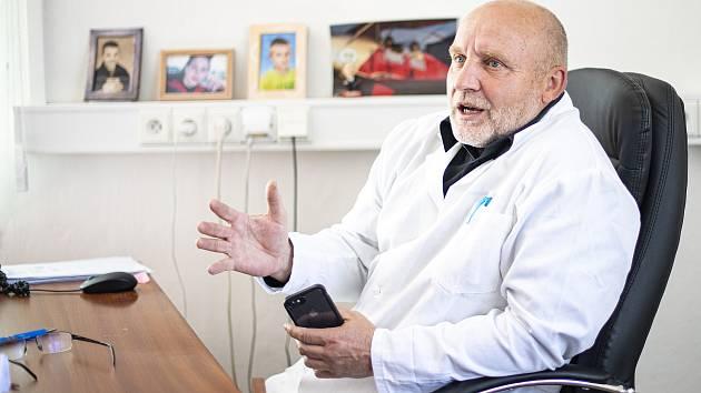 Ředitel příbramské nemocnice Stanislav Holobrada.