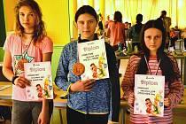 Ze šachového turnaje pro mládež 'O příbramskou královnu' v Příbrami.