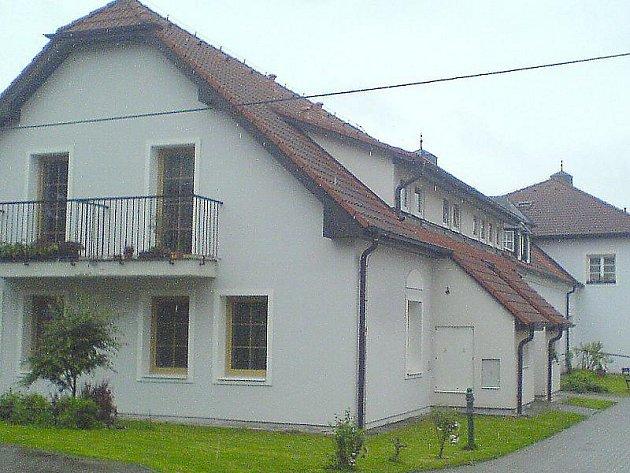 Dům s pečovatelskou službou v Rožmitálu.