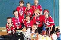 Kluci z Tatranu Sedlčany vyhráli turnaj v Sezimově Ústí.