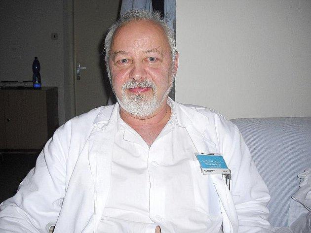 Zástupce primáře chirurgie příbramské nemocnice MUDr. Jan Bürger.