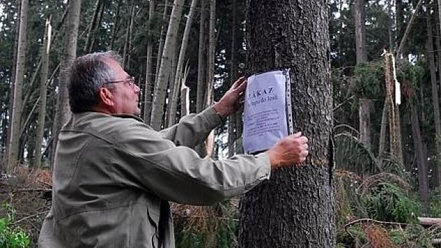 Lesy v okolí Příbrami jsou z bezpečnostních důvodů uzavřené až do 10. září