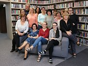 Ústřední půjčovna pro dospělé v hlavní budově příbramské knihovny.