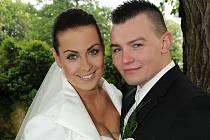 Dita Drobílková a Petr Pusch se vydali na společnou cestu životem v sobotu 1. června hodinu po poledni na zámku v Březnici.