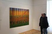 V příbramské Galerii Františka Drtikola vystavují umělci z volného uměleckého sdružení 12/15.