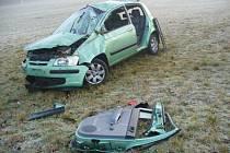 Nehoda u Lešetic.