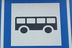 Zastávka MHD, ilustrační foto.