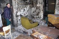 Vnitřní prostory takzvaného domu hrůzy v Příbrami