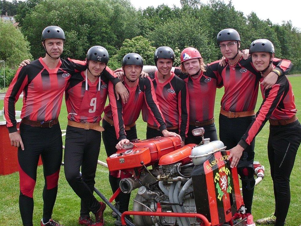 Líchovští hasiči.