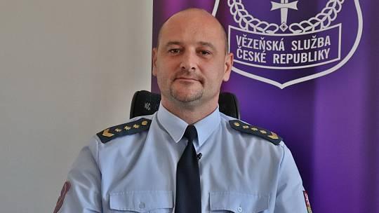 Nový ředitel příbramské věznice Petr Červený.