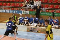 Finále Floorball Games 2014: Žraloci Příbram - Okříšky-Kněžice.