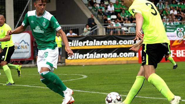 Přípravné utkání 1. FK Příbram - Werder Brémy 1:1.