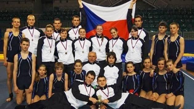 Družstvo Sokola Příbram se podívá na mistrovství Evropy.