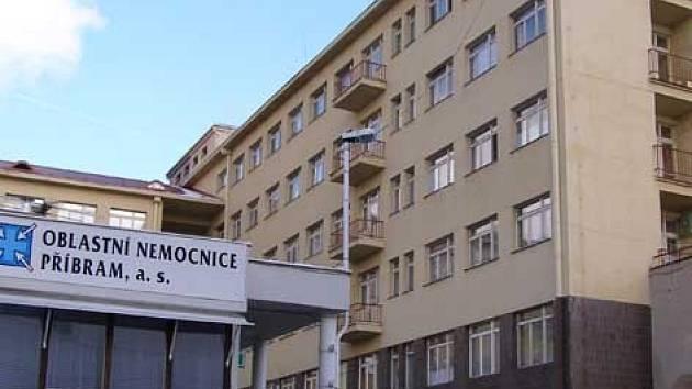 Areál Oblastní nemocnice Příbram v ulici U Nemocnice