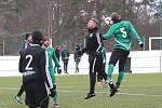 Přípravné utkání Tatran Rakovník - MFK Dobříš 5:2 (2:1).