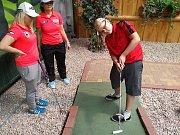 Příbramský rodák Pavel Mayer se podívá na US Open v adventure golfu