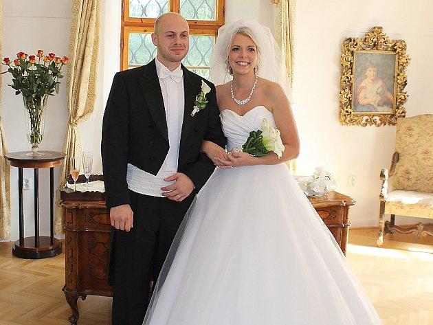 Petra Votápková a Martin Jonáš se vydali na společnou cestu životem v pátek 19. září 2014.