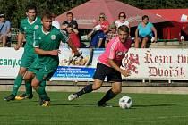 Utkání 6. kola Divize A 2018/2019 Tatran Sedlčany - Sokol Čížová 1:0 po penaltovém rozstřelu.